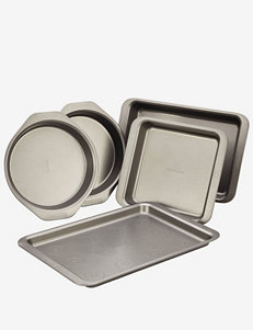 Cake Boss 5-pc. Gray Bakeware Set