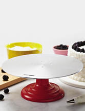 Cake Boss Decorating Turntable and Cake Stand