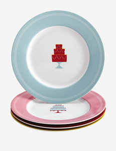 Cake Boss 4-pc. Mini Cakes Print Dessert Plate Set