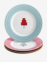 Cake Boss 4-pc. Mini Cakes Print Dessert Plate Set