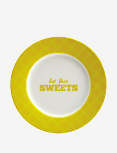 Cake Boss 4-pc. Patterns & Quotes Dessert Plate Set