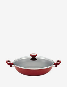 Farberware New Traditions 12.5 Inch Covered Skillet With Side Handles
