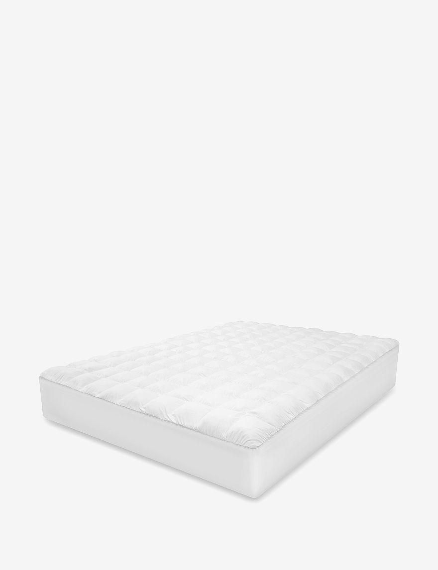 Sensorpedic White Mattress Pads & Toppers