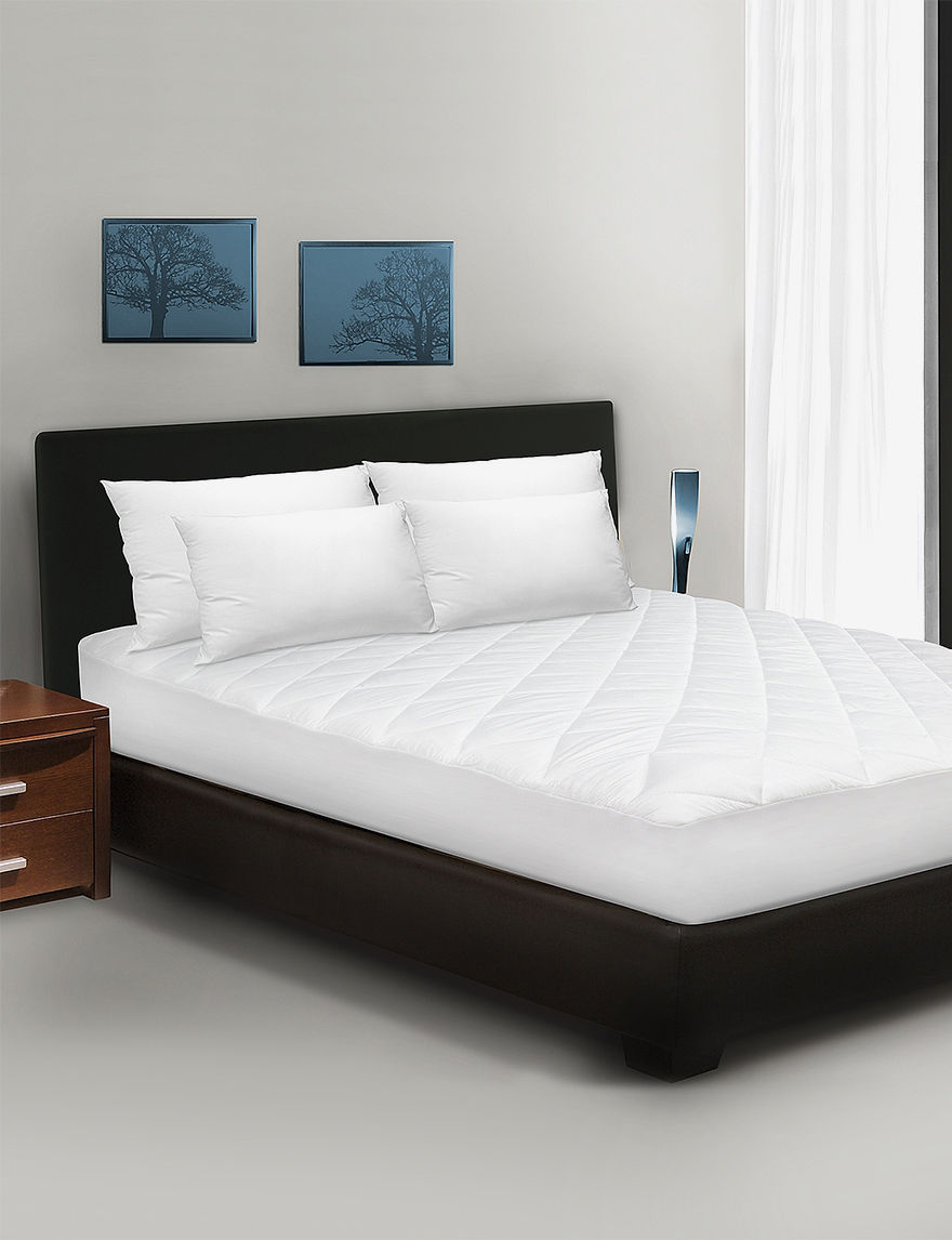 Sensorpedic White Mattress Pads & Toppers