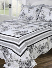 Vintage Collection Emory 3-pc. Quilt Set