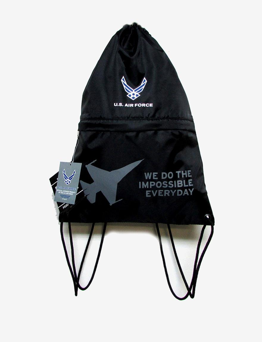 Licensed Black Fanny Packs & Drawstring Bags