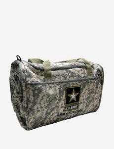 U.S. Army Camo Print Duffel Bag