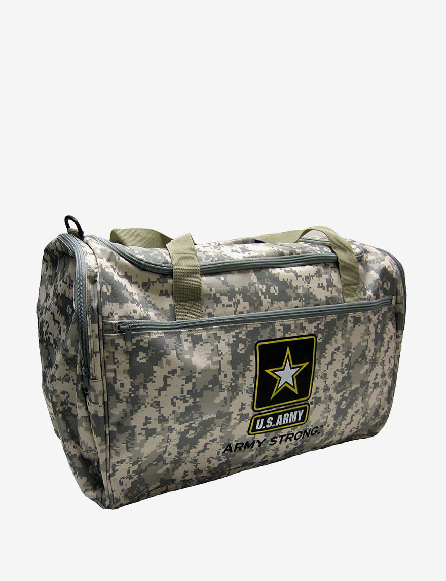 Licensed Camo Duffle Bags