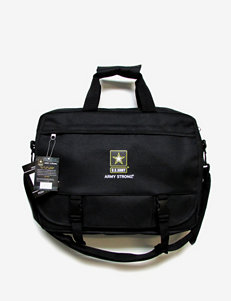 U.S. Army Black Laptop Messenger Bag