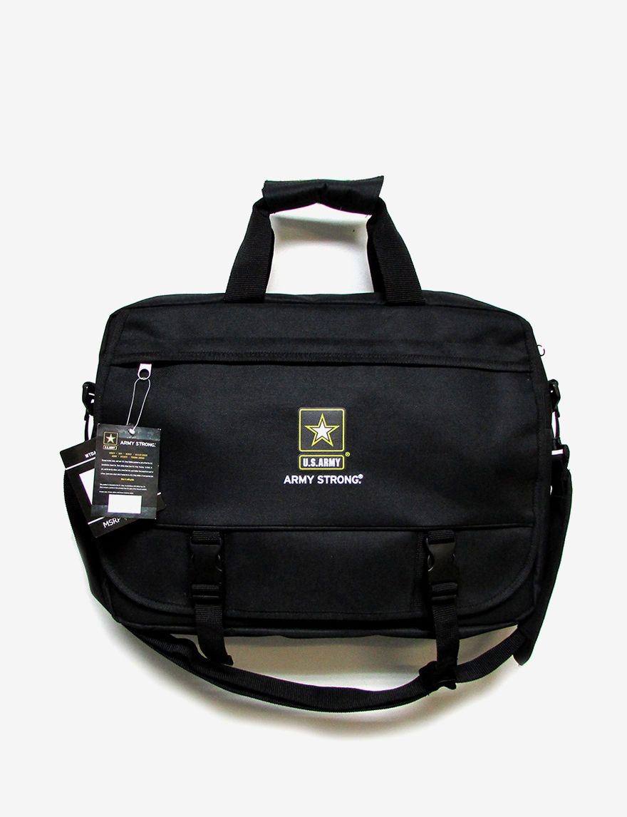 Licensed Black Laptop & Messenger Bags
