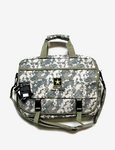U.S. Army Camo Print Laptop Messenger Bag