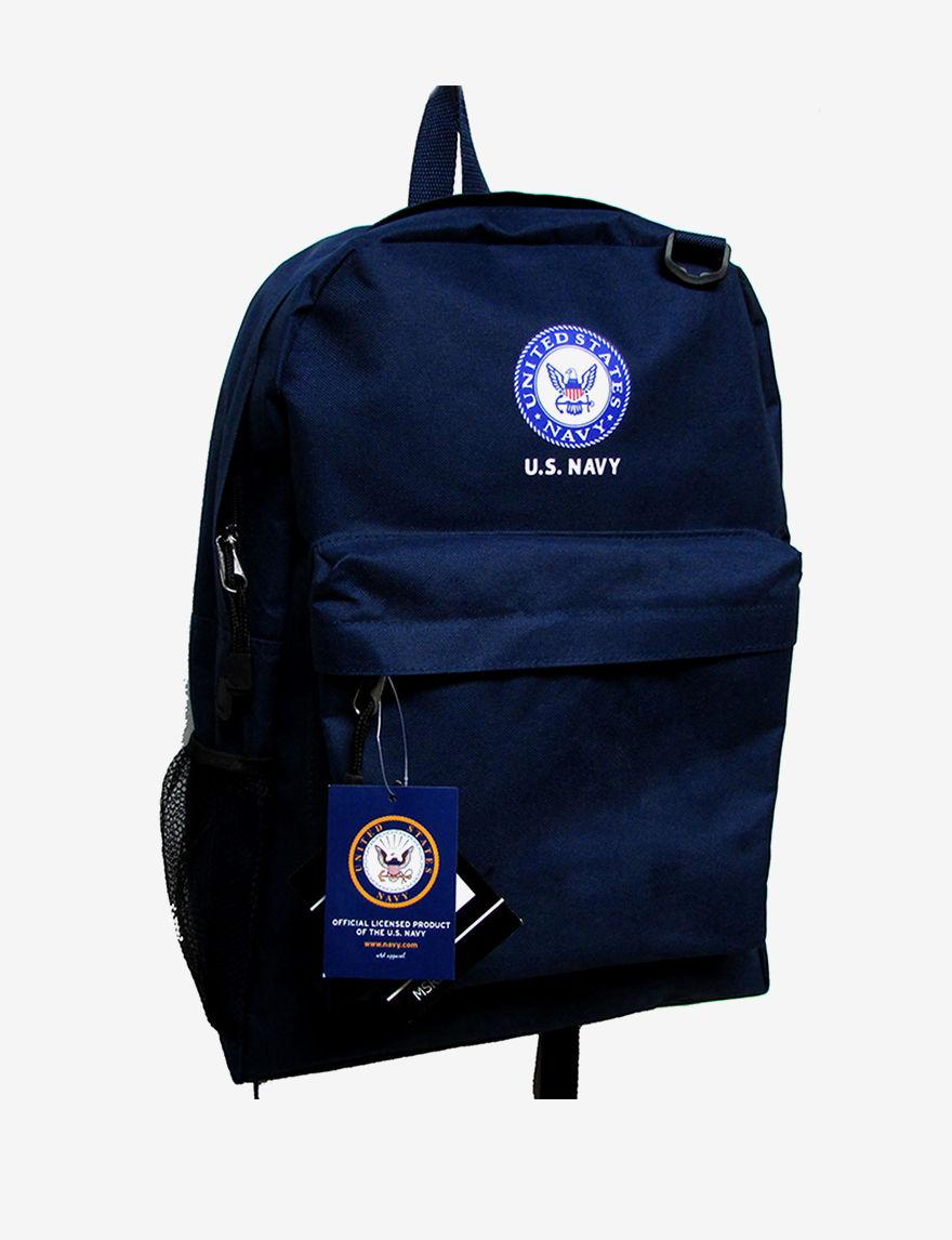 Licensed Navy Bookbags & Backpacks