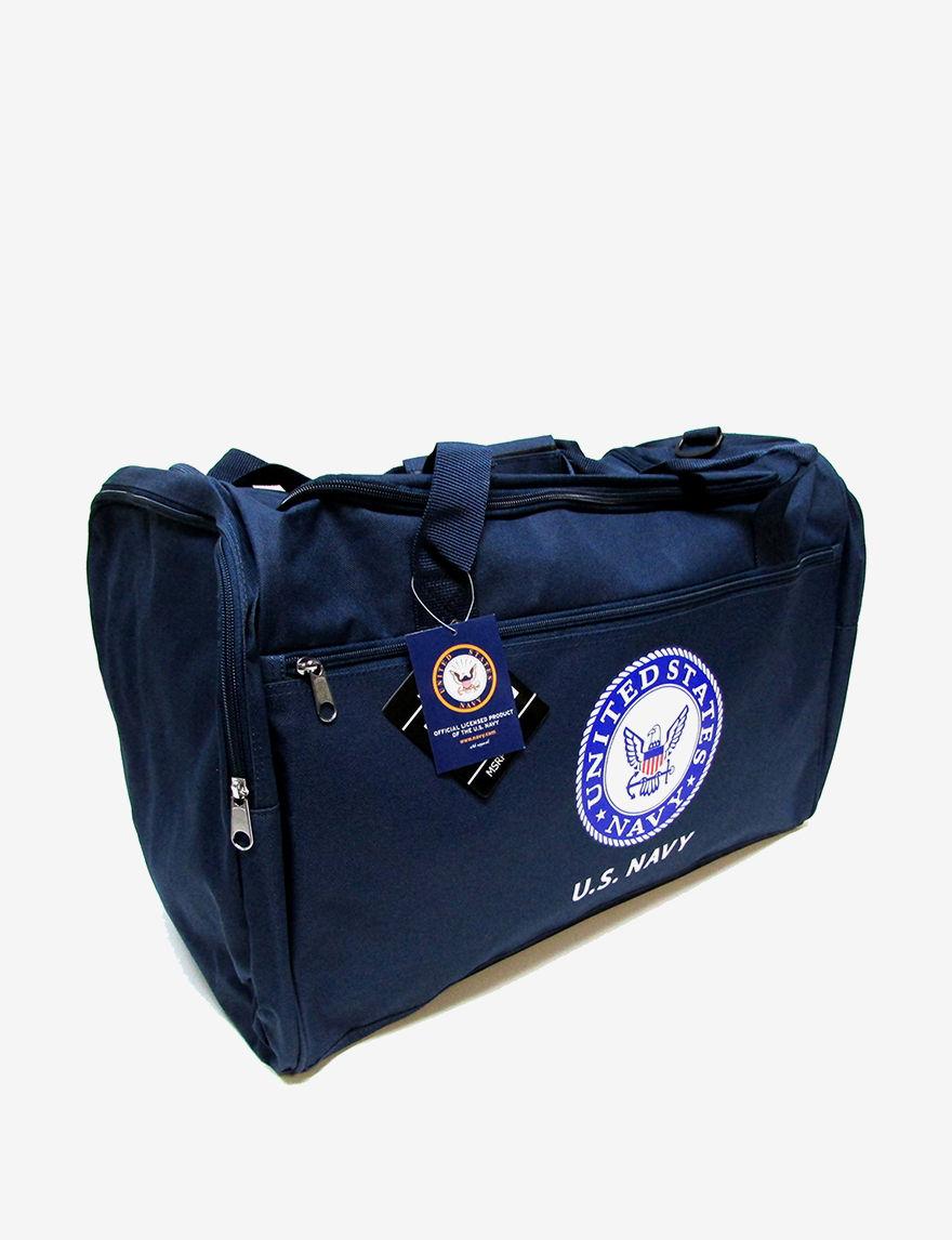 Licensed Navy Duffle Bags