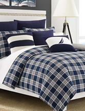 Nautica Eddington Navy Comforter Set