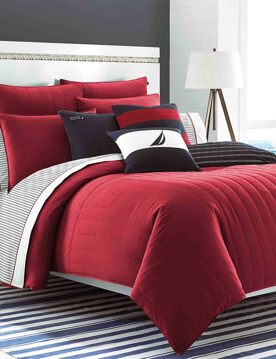Nautica Red Quilts & Quilt Sets