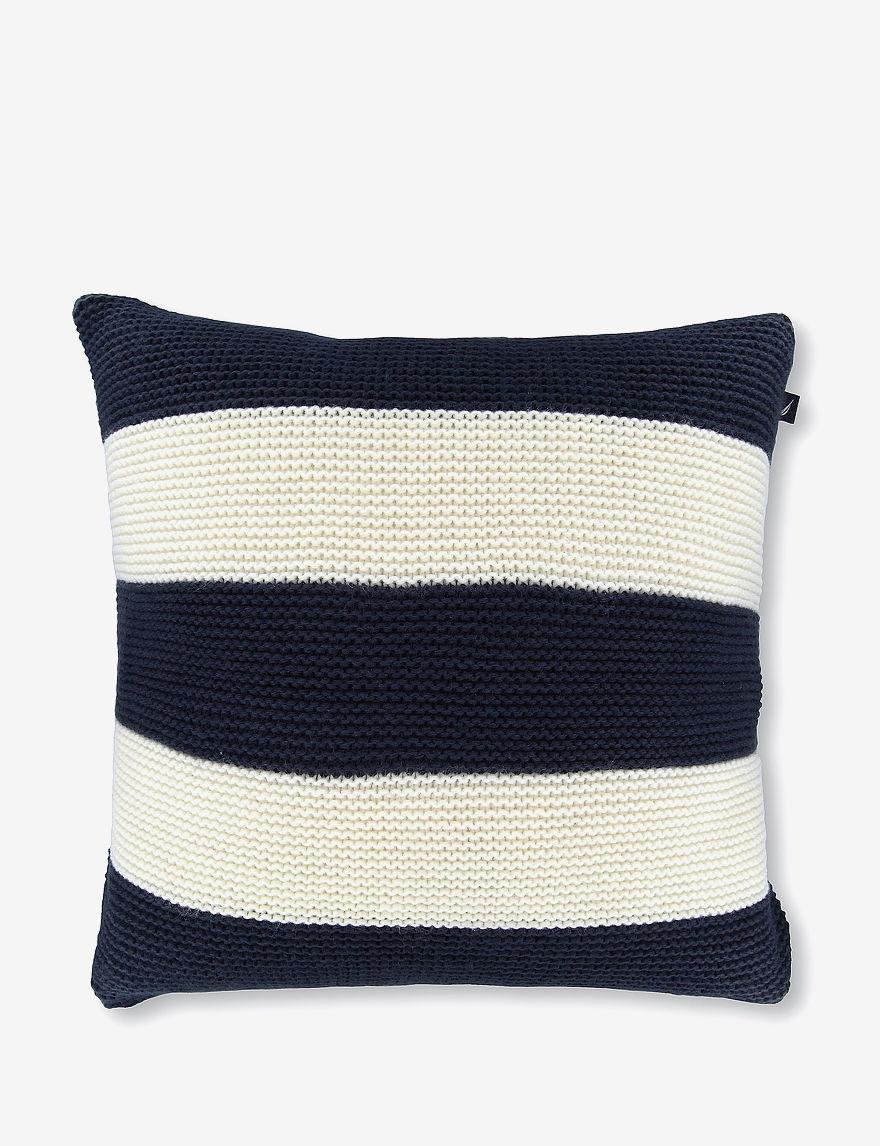 Nautica Navy Decorative Pillows