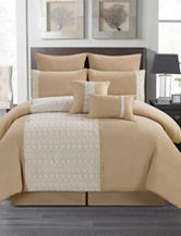 Artistic Linen Pebble Tan 8-pc. Comforter Set