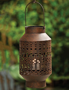 Caffco Intl. Metal Lantern With Glass Votive