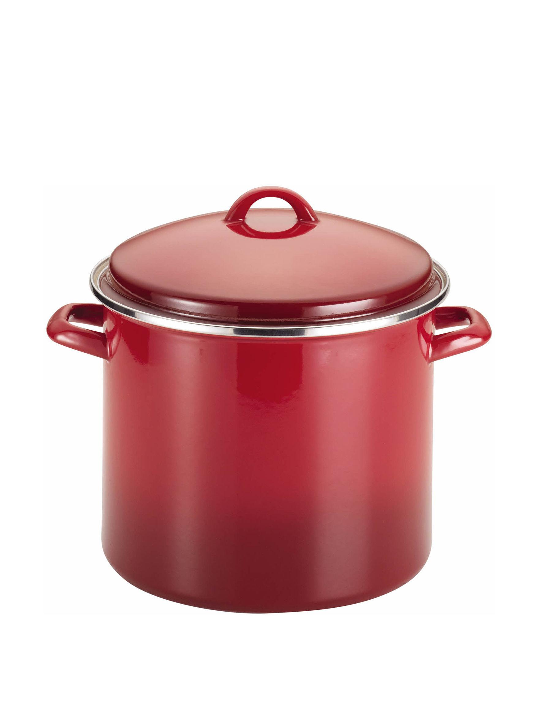 Rachael Ray Red Pots & Dutch Ovens Flatware