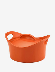 Rachael Ray Stoneware 2.75-Quart Casserround Baking Dish