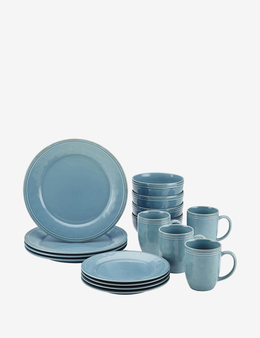 Rachael Ray Blue Dinnerware Sets Dinnerware