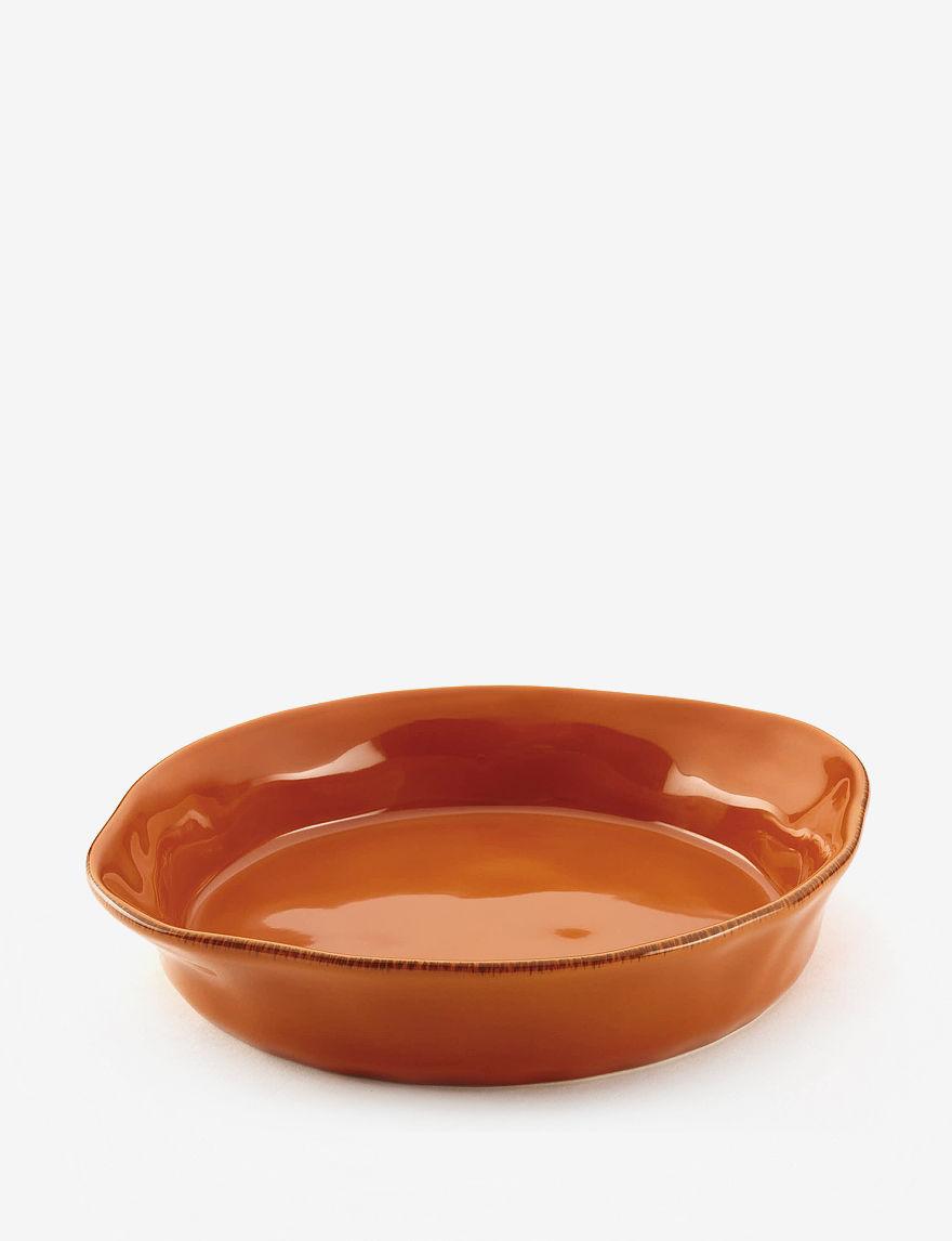 Rachael Ray Burnt Orange Baking & Casserole Dishes Bakeware Cookware