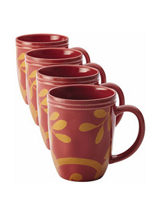 Rachael Ray Red Mugs Drinkware