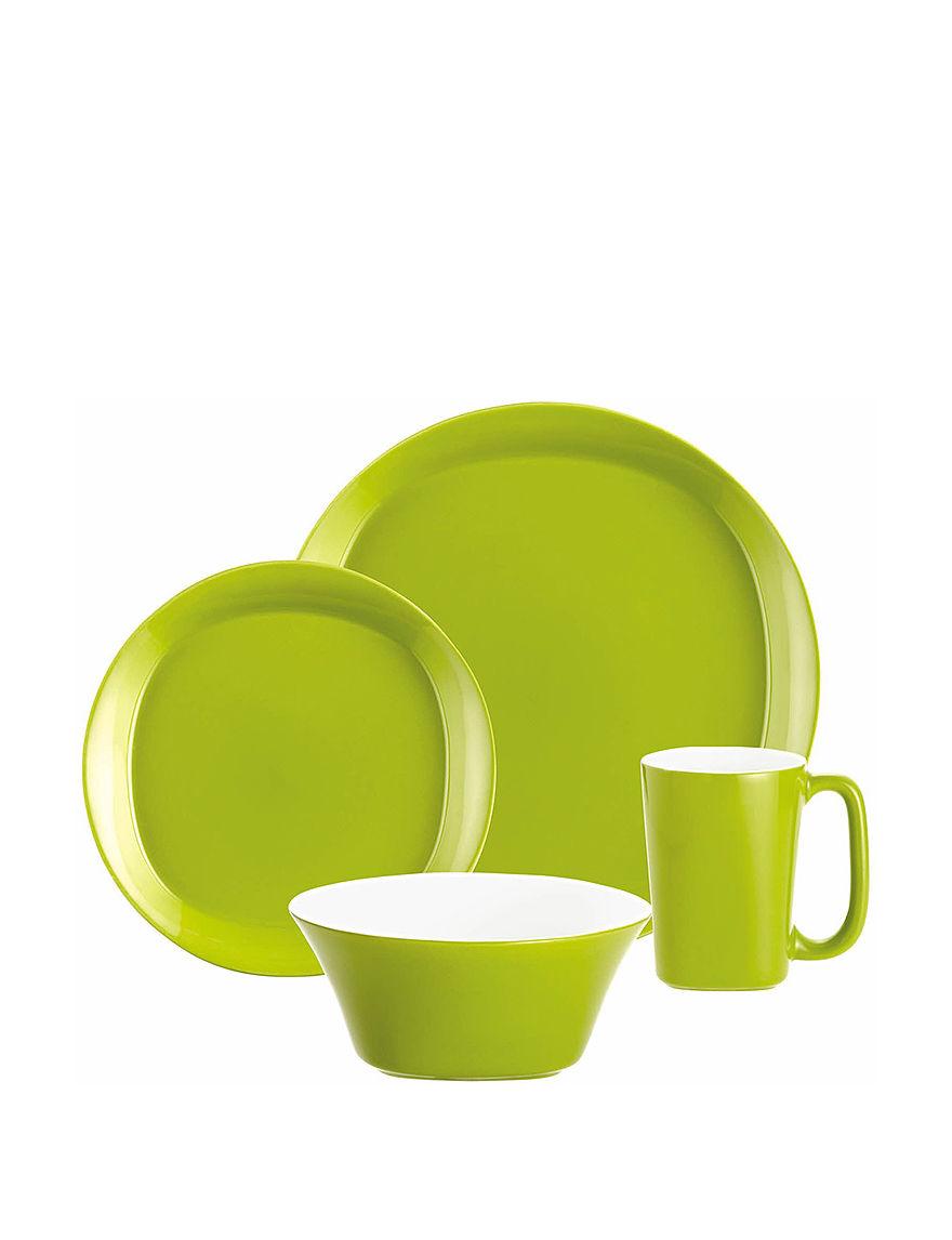 Rachael Ray Lime Dinnerware Sets Cookware