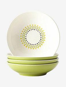 Rachael Ray 4-pc. Circles & Dots Fruit Bowl Set