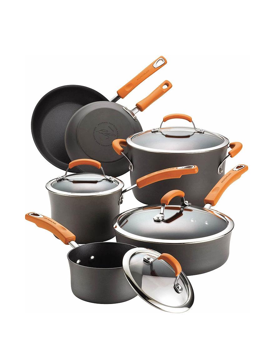 Rachael Ray Grey Cookware Sets Cookware