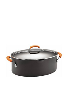 Rachael Ray Hard-Anodized 8-qt. Covered Pasta Pot
