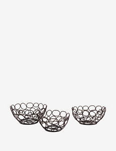 IMAX 3-pc. Wire Nesting Bowl Set