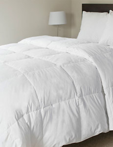 Lavish Home White 100 Percent Cotton Feather Down Bedding Comforter