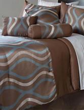 Lavish Home 7-Pc. Galina Comforter Set