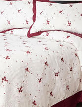 Lavish Home Chloe Embroidered Quilt Set