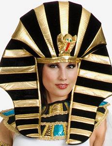Black & Gold Ancient Egyptian Headpiece
