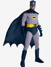 7-pc. 1966 Series Batman Costume Set– Mens