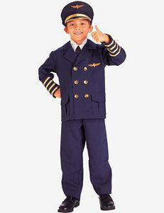 5-pc. Airline Pilot Costume Set – Boys