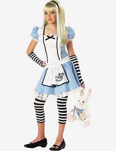 Alice in Wonderland 3-pc. Blue & White Costume – Teen