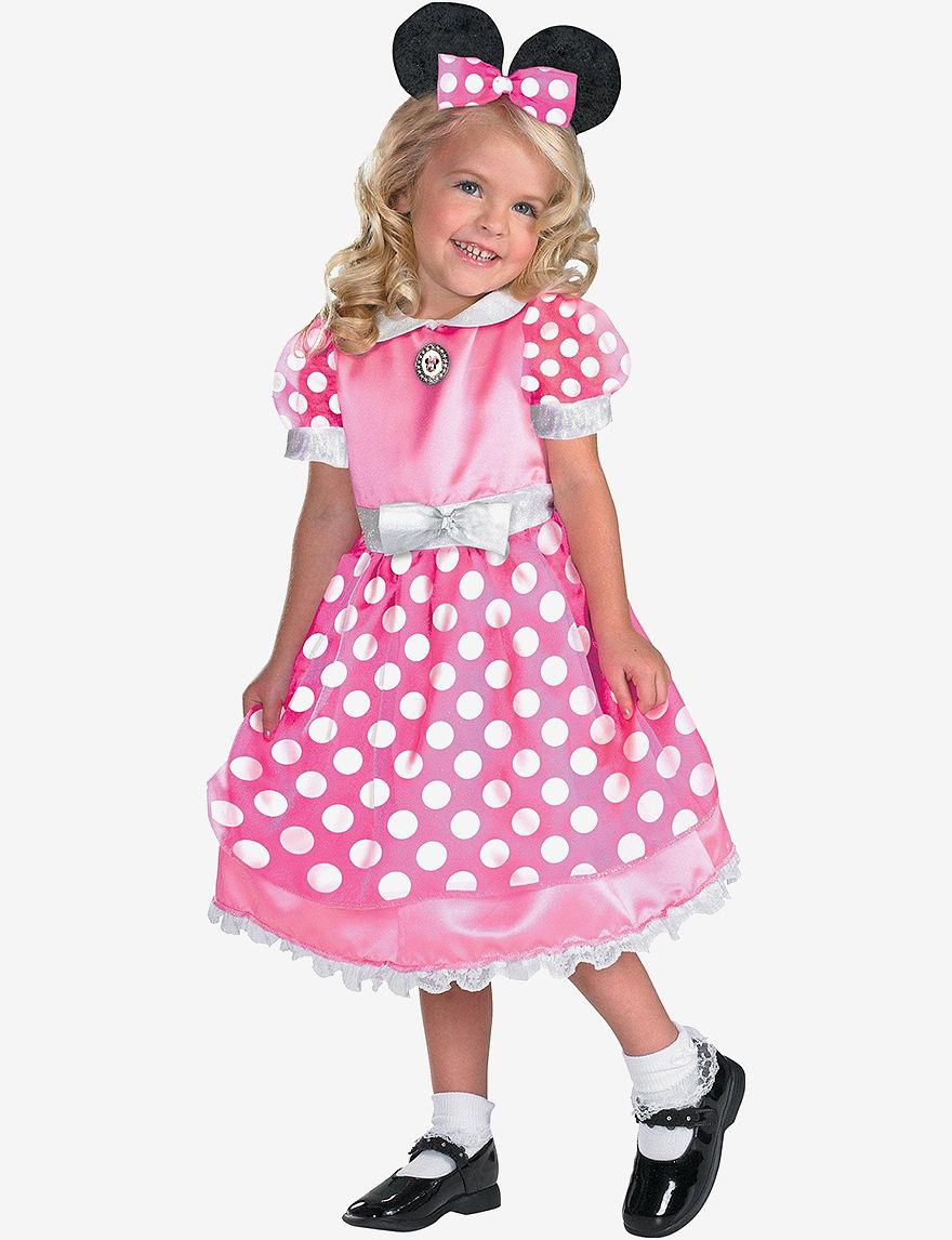 BuySeasons White / Pink
