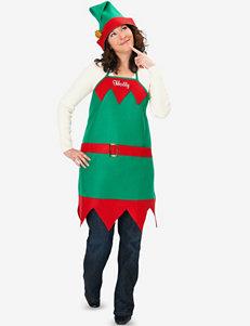 Elf Holiday Apron & Hat