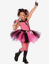 BuySeasons 7-pc.  Glam Rocker Costume Set – Girls
