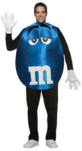 2-pc. Blue M&M's Costume Set