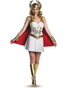 7-pc. Masters Of The Universe She-Ra Costumes Set –Ladies