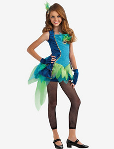 Blue & Green 4-pc. Peacock Costume – Teen