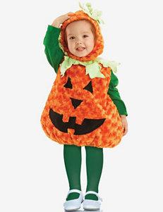 2-pc. Plush Orange Pumpkin Costume – Baby