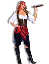 4-pc. Sweet Buccaneer Pirate Costume Set