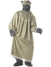 5-pc. Wolf Granny Costume Set
