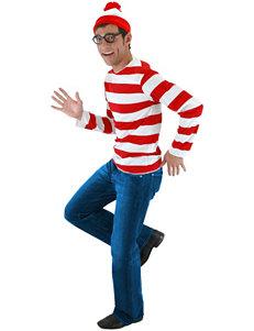 3-pc. Where's Waldo Costume Set