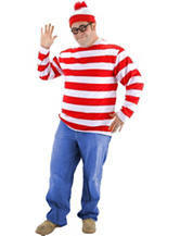 BuySeasons 3-pc. Where's Waldo Costume – Men's Big & Tall